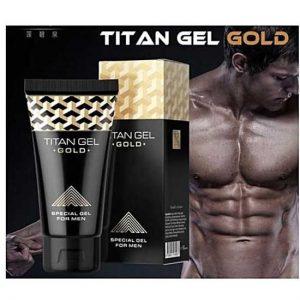 TITAN GEL GOLD FOR MEN ΤΖΕΛ ΜΕΓΕΘΥΝΣΗΣ ΠΈΟΥΣ 50ml